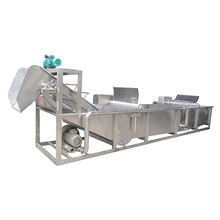Industrial cleaning machine for carrot potato ginger