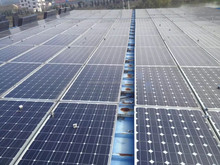 Used solar panels 200W in project from top supplier