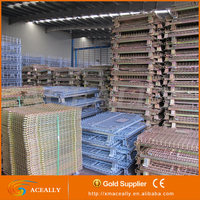 hot dipped galvanized storage metal cage ,durable metal breeding cage