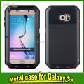 new products metal waterproof phone case for samsung galaxy s6