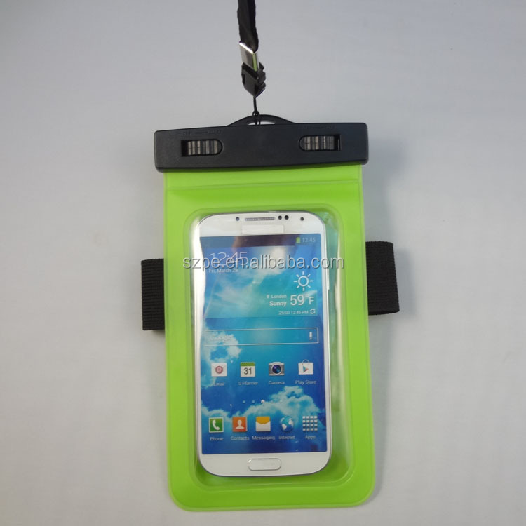 Waterproof Case Pouch Bag Designed Exclusively for Iphone 4/4s/5/5s/5c and Ipod Touch 5