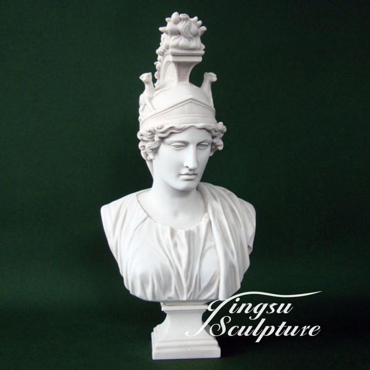 Customized service available western male antique marble busts