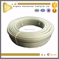 7X19 high tensile strength hot sale galvanized steel wire sling manufacturer hot sale wire rope