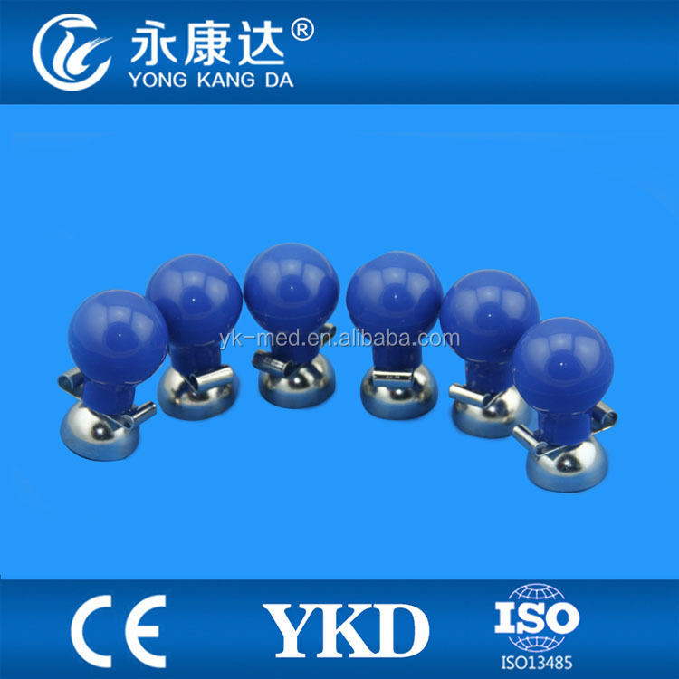 Stable Quality Blue Adult suction ECG EKG electrodes ball with good price