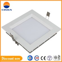 High quality NO glare led 18W square ultra thin downlight with AC100-277V