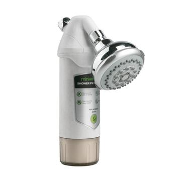 Miniwell L720 Shower Filter with shower head, Chlorine Removal, prefect for skincare