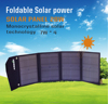 0522~Mono Solar Panel 28 Watt of Portable Solar Panel, Outdoor or camping application