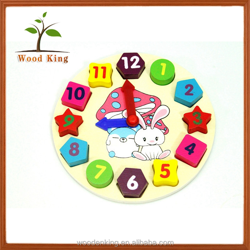 Learning Board Cartoon Rabbit Block Matching Early Education Wooden Children'S Toy Kids Learning Toys 3d Jigsaw Puzzle