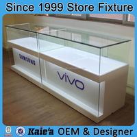 Mobile Phone Display/mobile phone display cabinet,glass store mobile phone display showcase