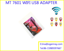 USB WiFi Mini 150Mbps Wireless MTK7601 WIFI USB ADAPTOR for ALI satellites/compliant with STB