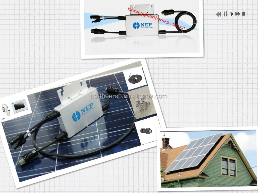 <strong>DC</strong>/AC converter 110v/220Vac/250W Grid Tie Solar Micro Inverter