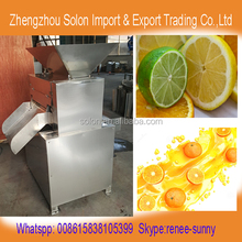 New design roller type kumquat juicer machine/lemon juice squeezer/lime squeezer