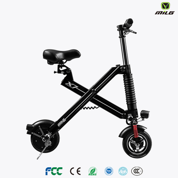 2017 cheap mini folding electric chopper bike for children Merry Christmas gift