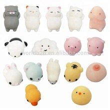 Mini Cute Soft Squishies Slow Rising Toy Squeeze Stretchy Animal Seals Healing Toys