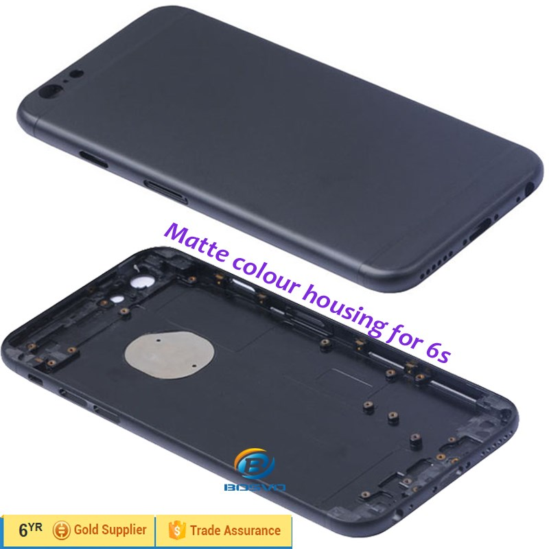 Brand New Custom matte black Blue housing replacement for iphone 6 6s