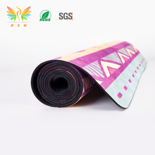 Wholesale Eco-Friendly Custom Printed Position Line Sports Mat Yoga Mat