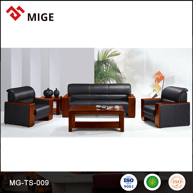 Big discount modern quality management pictures wood sofa furniture