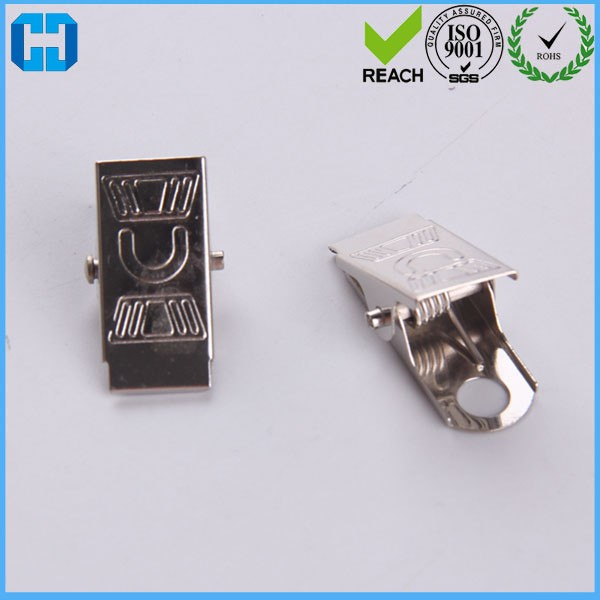 Cheap Price Metal Clip Name Tag Badge Id Card Holders