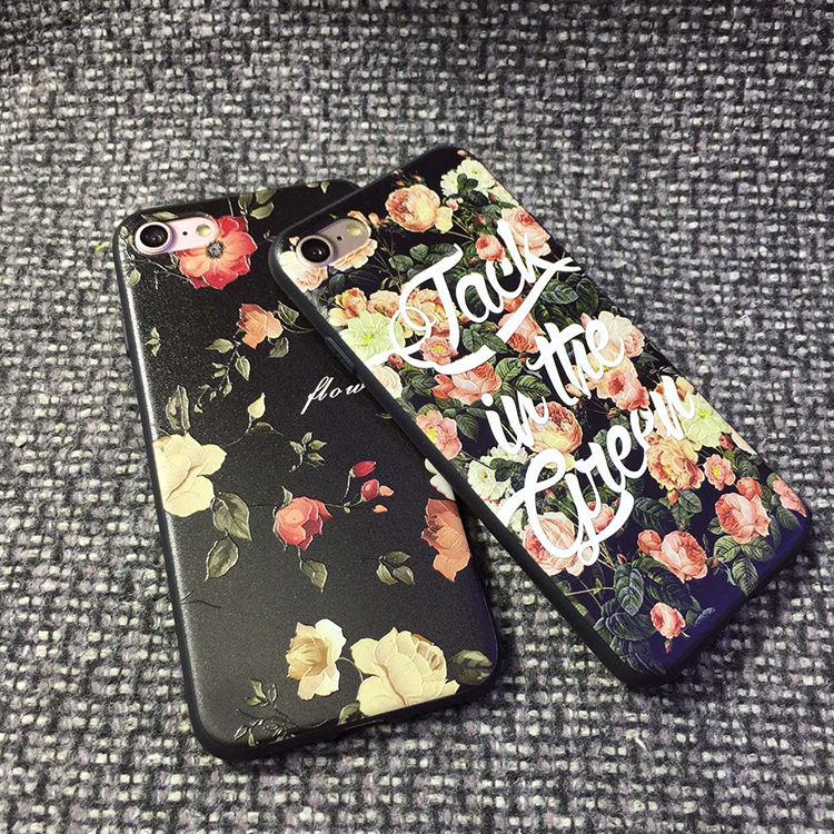 Fantastic Floral Printing Mobile Phone hard case flip cover case for huawei p8 max