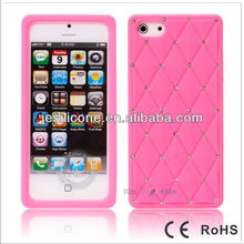 pc+silicone case for iphone 5,cartoon silicon mobile phone case