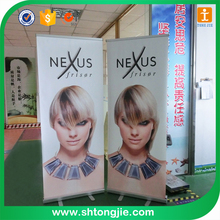 FACTORY PRICE custom moving roll up banner stand with digital printing TJ--XY-011