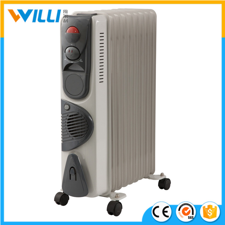2016 Hot oil filled electric radiator / oil filled radiator heater with fan