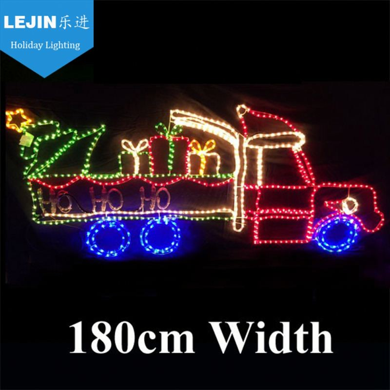 New promotion 3d train christmas rope light for sale