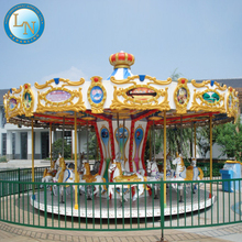 High quality wholesale attractive mini carousel horse for sale