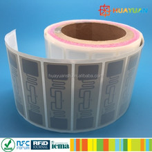 thermal transfer printer EPC Gen2 9662 H3 Smart UHF RFID Paper Label inlay tag