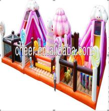 Cheer giant candyland inflatable playground for children amusement