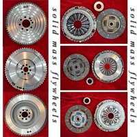 Clutch kit with flywheel for Nissan Navara D40T
