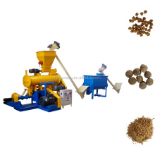 In Nigeria Floating Fish Feed Mixing Milling Machine Small Animal Feed Grinder And Mixer Poultry Feed Plant Production Line