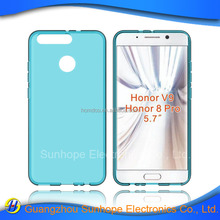 clear Transparent tpu soft cell phone case for Huawei Honor V9 Honor 8 Pro tpu cover