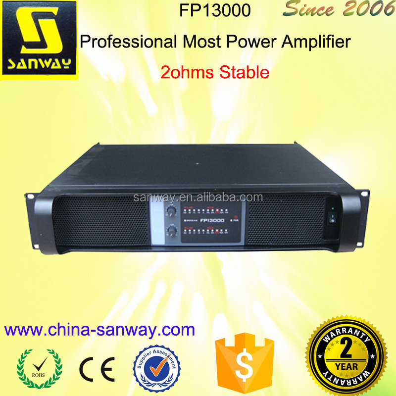 Professional Most Power Amplifier FP13000