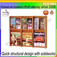 POP high quality wood showcase designs