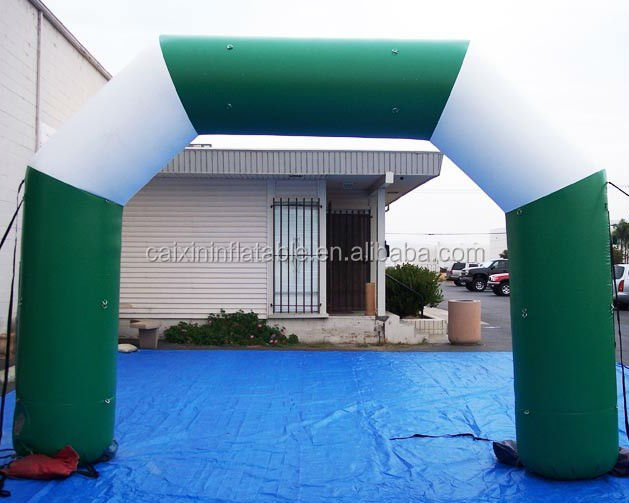 high quality Customized Racing Inflatable Arch / promotion archway/ Advertising Arch