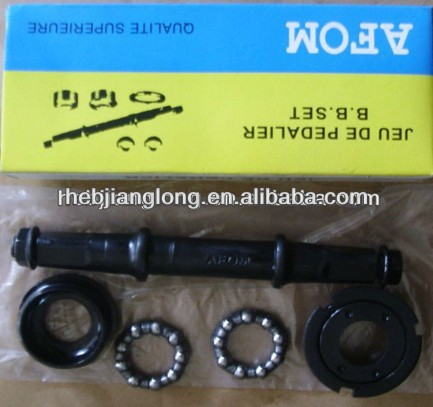 Bicycle B.B AXLE AND CUP / Bicycle parts b.b axle / bicycle B.B SET