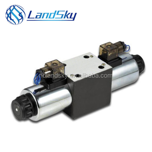 LandSky nozzle check valve WE10E J H L <strong>U</strong> M G3/8 M18X1.5 Directional valves with wet pin DC or AC solenoids type