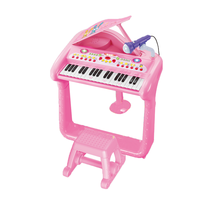 Wholesale educational musical instrument toy electric piano toy with light for kids (3 colors)