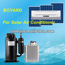 DC 48v solar power air conditioner for solar cooler containers for cool battery cabinet in Telecom Shelter