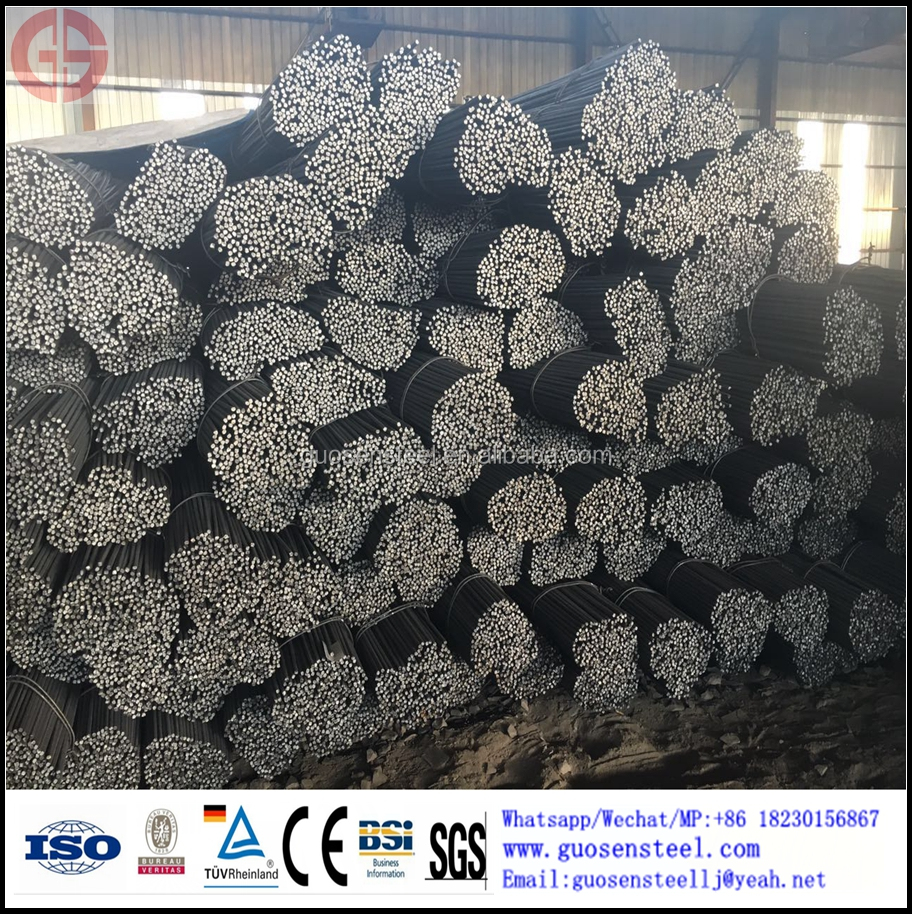 High Quality HRB500 deformed steel bar reinforced Steel Rebar Price