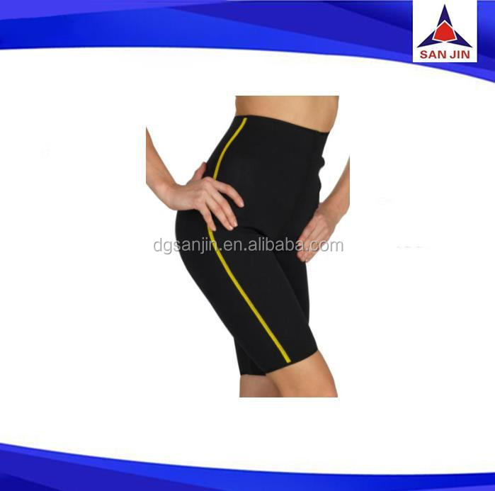neoprene gym sexy short pants slimming