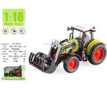 HOT SELLING PLASTIC FRICTION FARM TRACTOR FOR KIDS