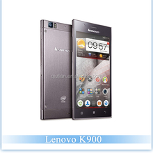 Original Lenovo K900 Intel Z2580 CPU Dual core 2.0GHz 2G RAM 16G ROM 5.5 inch FHD Screen 1980*1080 Cell Phone Lenovo K900