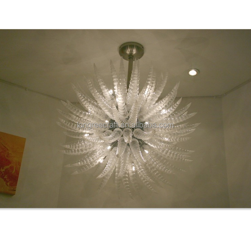 CLEAR HIGH QUALITY MUERANO GLASS CHANDELIERS TIPICAL DALE CHIHULLY CHANDELIER <strong>LIGHTINGS</strong>