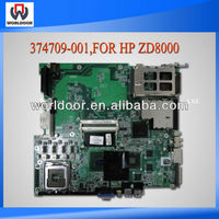 Laptop Motherboard For HP ZD8000 Intel 915 PM 374709-001