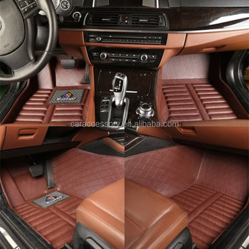 Right Hand Riving Car Floor Mat Leather Material Car Accessories for 2018