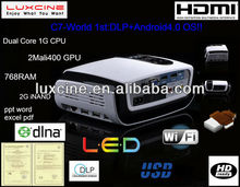 XMAS Promotion!!! Newest! Hot seller! C5 projector 3000 lumens led