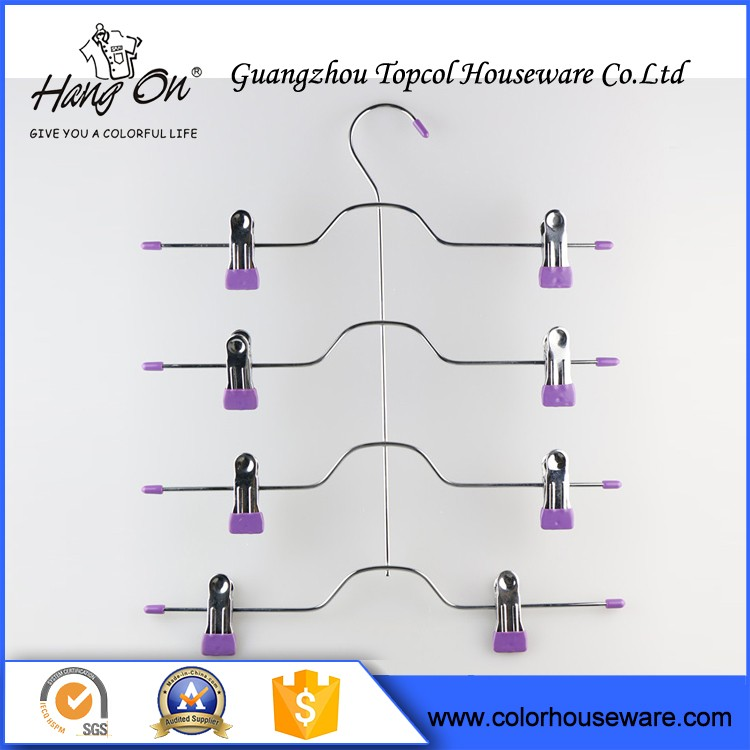 Foam Covered Wire Hanger , Wire Hanger Racks