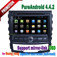 New 2014 2015 year Ssangyong KORANDO/actyon Car DVD /Radio/Phonebook/ iPod/mp4/mp5/TV/USB/DVR/SWC